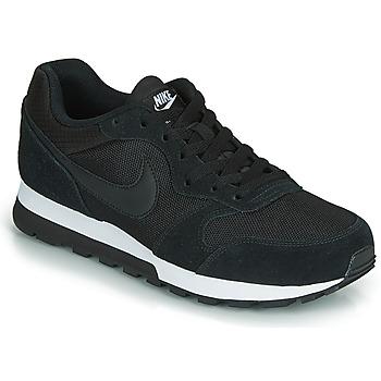 Schuhe Damen Sneaker Low Nike MD RUNNER 2  W Schwarz