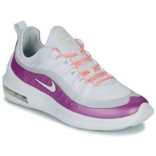 Schuhe Damen Sneaker Low Nike AIR MAX AXIS W Weiss / Violett
