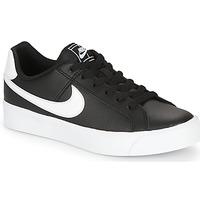 Schuhe Damen Sneaker Low Nike COURT ROYALE AC W Schwarz / Weiss
