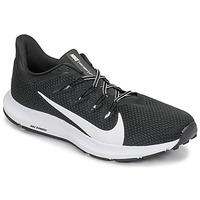 Schuhe Herren Laufschuhe Nike QUEST 2 Schwarz / Weiss