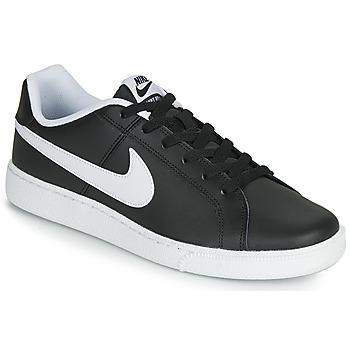 Schuhe Herren Sneaker Low Nike COURT ROYALE Schwarz / Weiss
