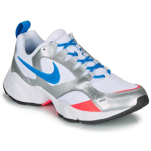 Posteridad Agrícola Alcalde  Nike AIR HEIGHTS Weiss / Blau / Orange - Kostenloser Versand   Spartoo.de !  - Schuhe Sneaker Low Herren 49,99 €