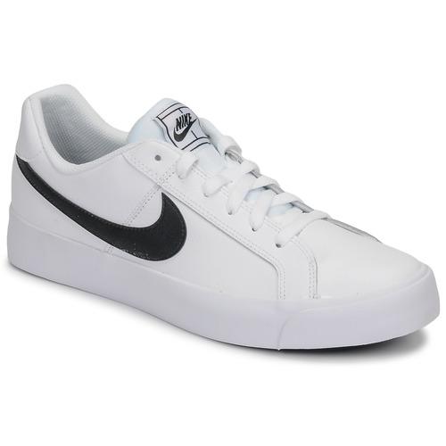 Schuhe Herren Sneaker Low Nike COURT ROYALE AC Weiss / Schwarz