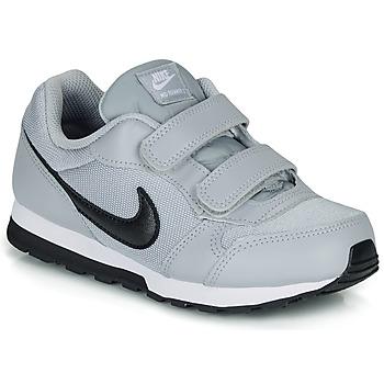 Schuhe Kinder Sneaker Low Nike MD RUNNER 2 PRE-SCHOOL Grau / Schwarz