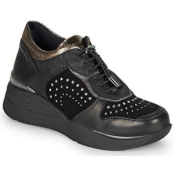 Schuhe Damen Sneaker Low Stonefly ELETTRA 6 Schwarz