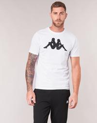 Kleidung Herren T-Shirts Kappa ESTESSO Weiss