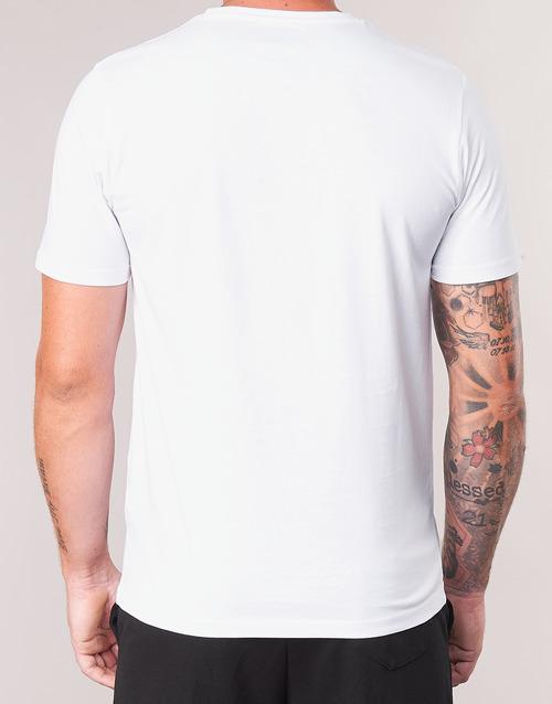 Kappa ESTESSO Weiss - Kleidung T-Shirts Herren 1999 ZBARV