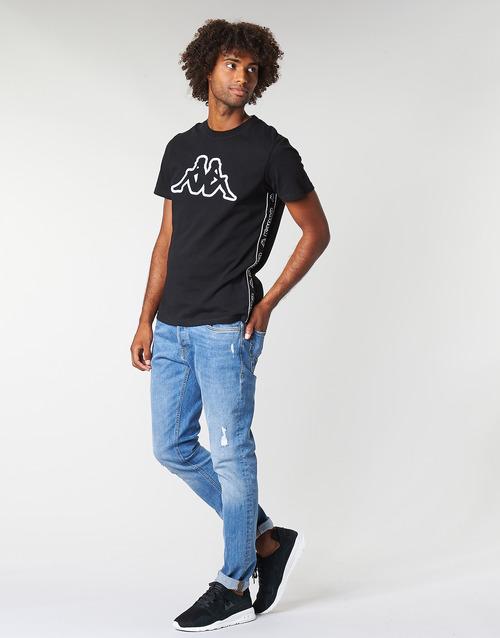 Kappa RAGGIO Schwarz - Kostenloser Versand |  - Kleidung T-Shirts Herren 2449 FruDZ