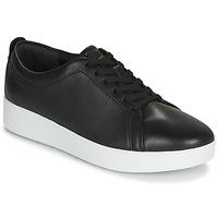Schuhe Damen Sneaker Low FitFlop RALLY Schwarz