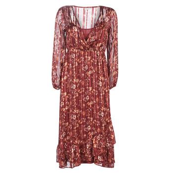 Kleidung Damen Maxikleider Cream NILA Rot
