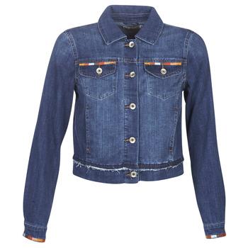 Kleidung Damen Jeansjacken Cream DIWA Blau