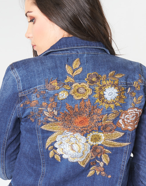 Cream DIWA Blau - Kostenloser Versand    - Kleidung Jeansjacken Damen 7697 Yh2nt
