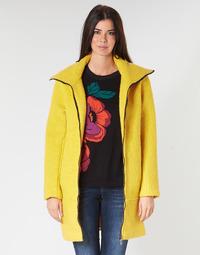 Kleidung Damen Mäntel Desigual LAND Gelb