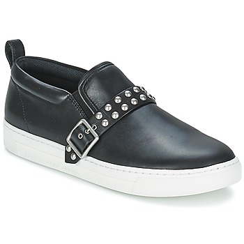 Schuhe Damen Slip on Marc by Marc Jacobs CUTE KICKS KENMARE Schwarz