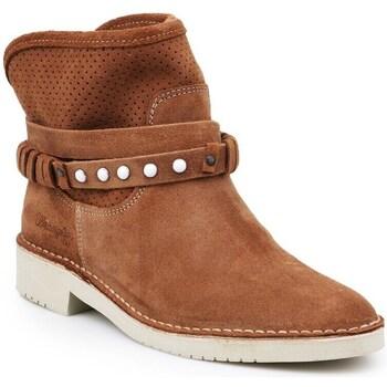 Schuhe Damen Low Boots Wrangler Indy Hole Braun