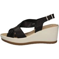 Schuhe Damen Sandalen / Sandaletten Valleverde 32344 Schwarz