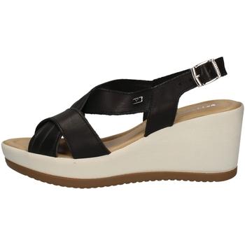 Schuhe Damen Sandalen / Sandaletten Valleverde 32344 BLACK