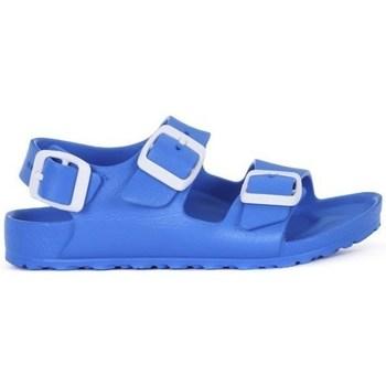 Schuhe Jungen Pantoffel Birkenstock Milano Kids Eva Blau