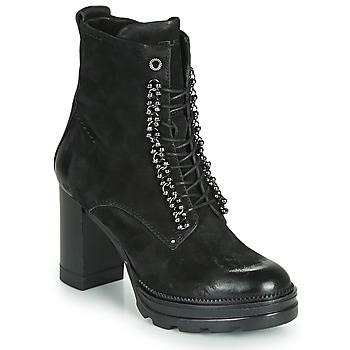 Schuhe Damen Low Boots Mjus AMARANTA Schwarz