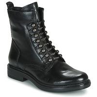 Schuhe Damen Boots Mjus CAFE STYLE Schwarz