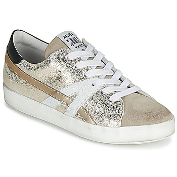Schuhe Damen Sneaker Low Meline MEL Gold