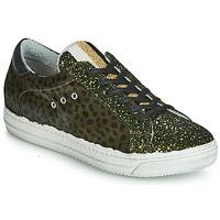 Schuhe Damen Sneaker Low Meline MILLE Kaki