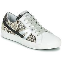 Schuhe Damen Sneaker Low Meline PANNA Weiss