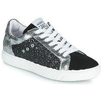 Schuhe Damen Sneaker Low Meline PAKITELLE Schwarz