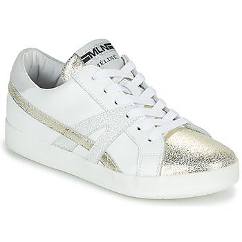 Schuhe Damen Sneaker Low Meline CRINO Weiss