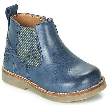 Schuhe Kinder Boots Aster STIC Blau