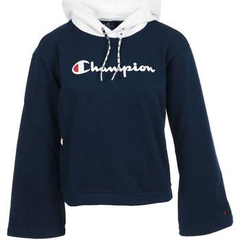 Kleidung Damen Sweatshirts Champion Hooded Sweatshirt Wn's Schwarz
