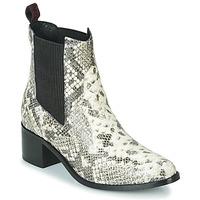Schuhe Damen Low Boots Gioseppo MIKKELI Schwarz / Weiss