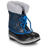 Schuhe Kinder Schneestiefel Sorel YOOT PAC NYLON Navy