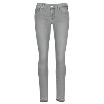 Kleidung Damen Slim Fit Jeans Replay LUZ Grau