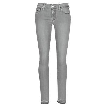 Kleidung Damen Slim Fit Jeans Replay LUZ Grau
