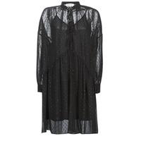 Kleidung Damen Kurze Kleider Replay W9525-000-83494-098 Schwarz