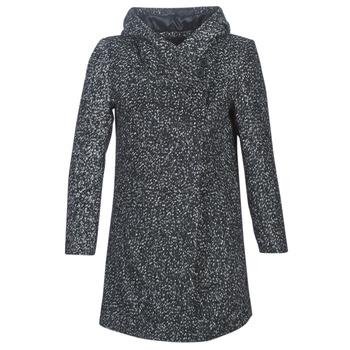 Kleidung Damen Mäntel Casual Attitude LOUA Grau / Schwarz