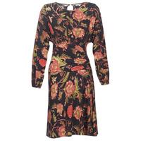 Kleidung Damen Kurze Kleider Derhy BANQUISE Schwarz / Multicolor