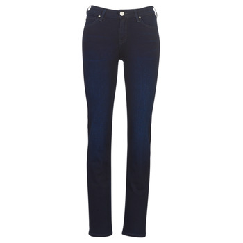 Kleidung Damen Straight Leg Jeans Lee MARION STRAIGHT DARK MULBERRY Blau