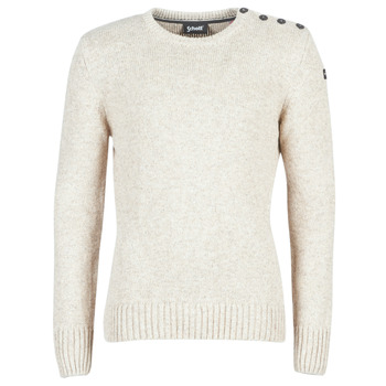 Kleidung Herren Pullover Schott PLOUTRIDER1 Beige