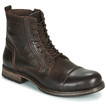 Schuhe Herren Boots Jack & Jones JFW RUSSEL LEATHER Braun