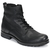 Schuhe Herren Boots Jack & Jones JFW ORCA LEATHER Schwarz