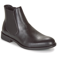Schuhe Herren Boots Selected LOUIS LEATHER CHELSEA Schwarz