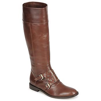 Schuhe Damen Klassische Stiefel Etro QUERO Braun