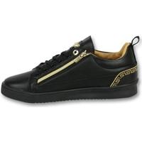 Schuhe Herren Sneaker Low Cash Money Low Sneaker Cesar Full Black CMP Schwarz