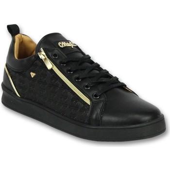 Schuhe Herren Sneaker Low Cash Money Sportliche Für Sneaker Maya Full Black Schwarz