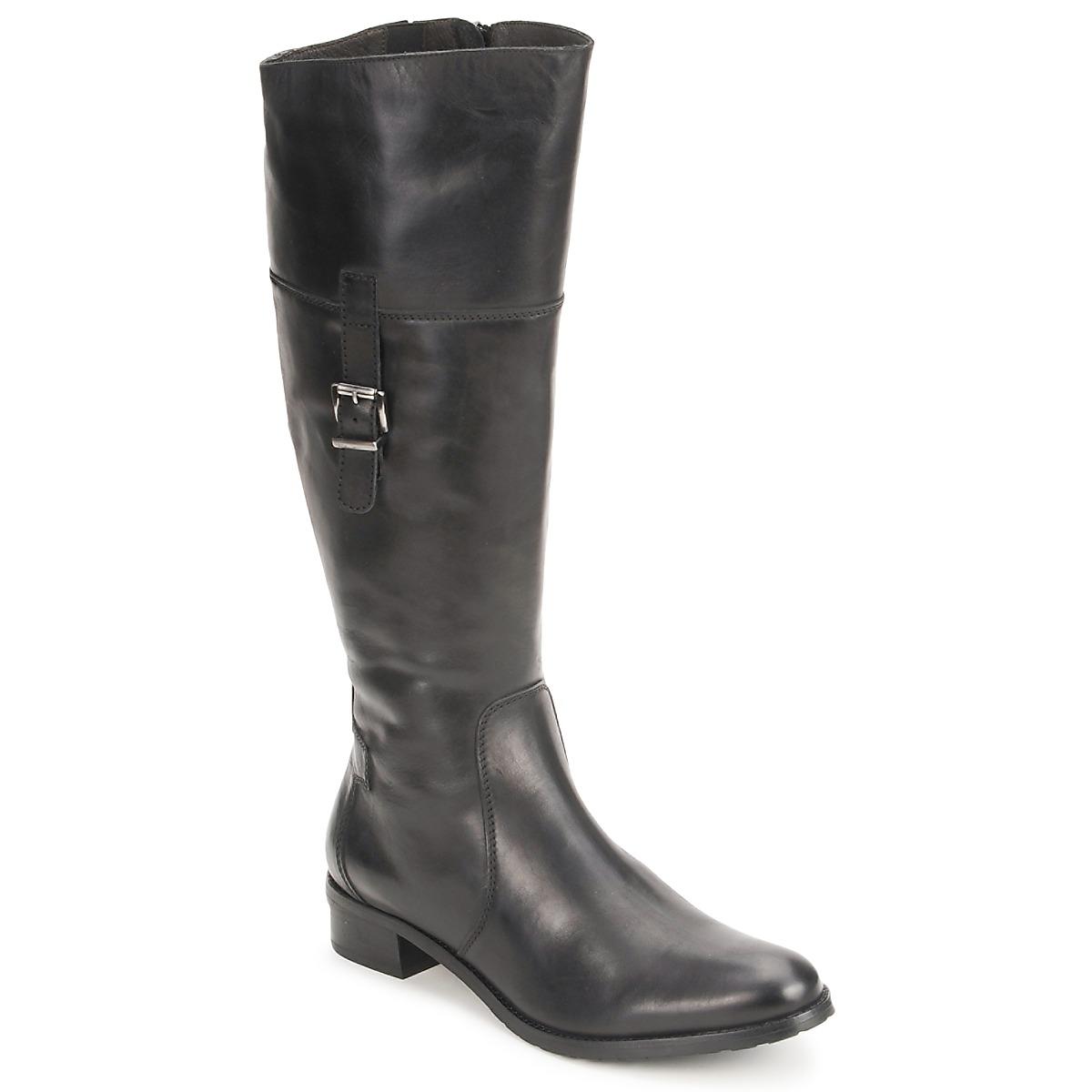 Fidji ERTUNI Schwarz - Kostenloser Versand bei Spartoode ! - Schuhe Klassische Stiefel Damen 131,40 €