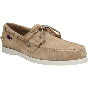 Schuhe Herren Bootsschuhe Sebago 121665 Beige
