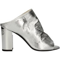Schuhe Damen Sandalen / Sandaletten Mariano Ventre SABOT MED Sandale Frau Silber Silber