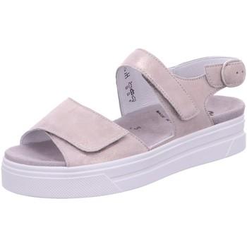Schuhe Damen Sandalen / Sandaletten Semler Sandaletten METALL-LAMM A1015039/020 rosa
